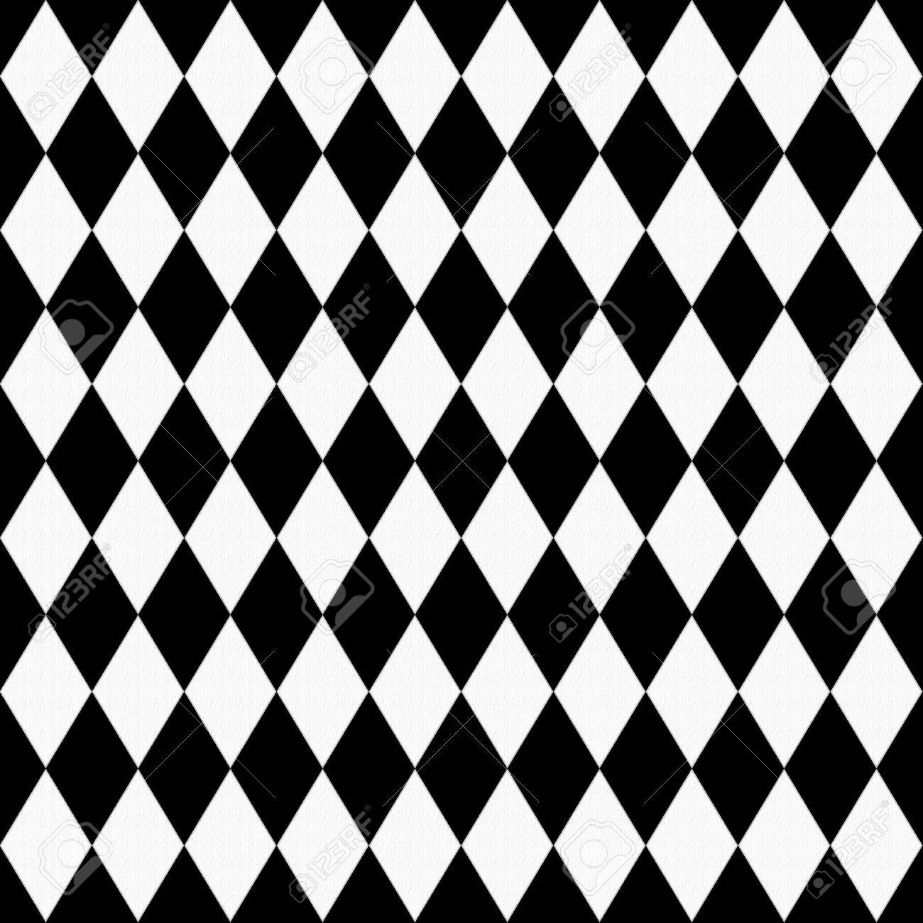 Black And White Diamond Shape Fabric Background That Is Seamless Stock Photo Picture And Royalty Free Image Image 23768535