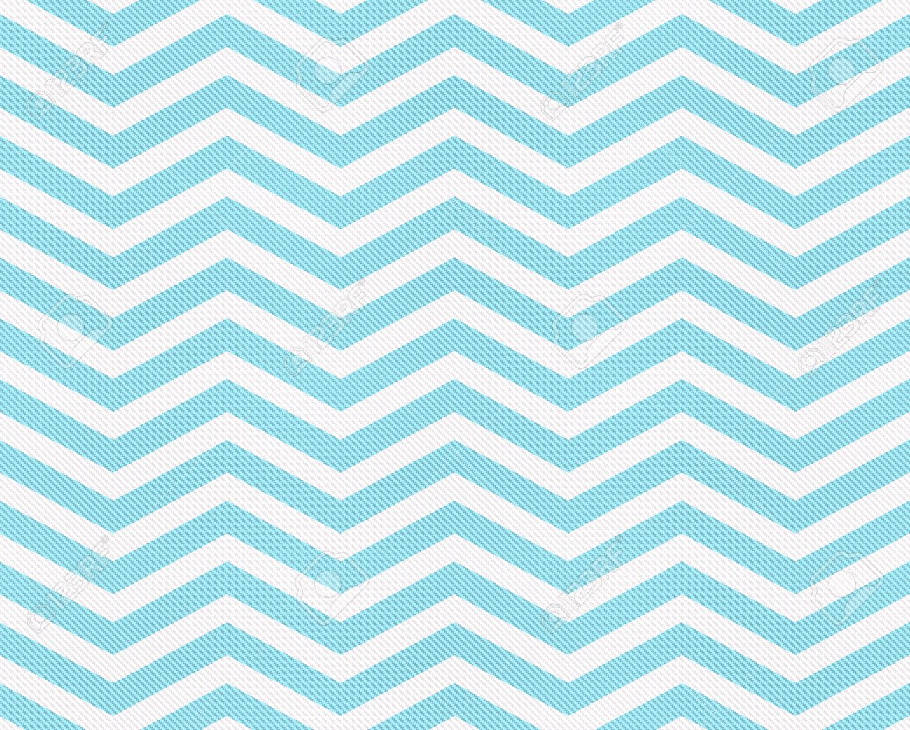 Teal And White Zigzag Textured Fabric Background That Is Seamless ...