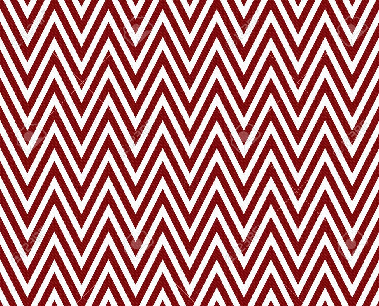 Thin Dark Red And White Horizontal Chevron Striped Textured ...