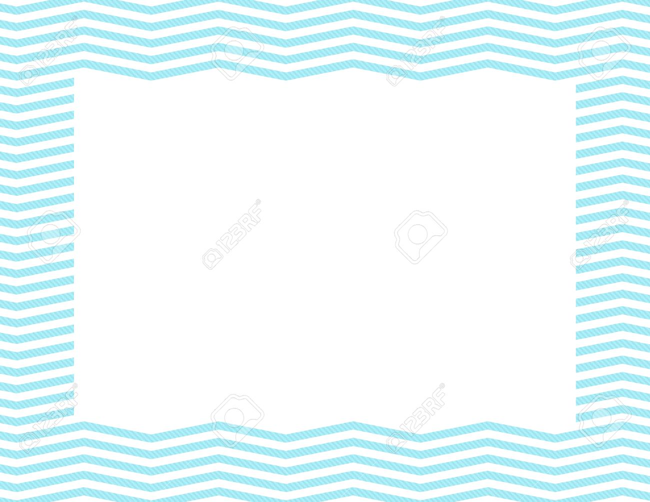 Teal Chevron Frame Background With Center Isolated For Copy Space Stock Photo Picture And Royalty Free Image Image 25079636