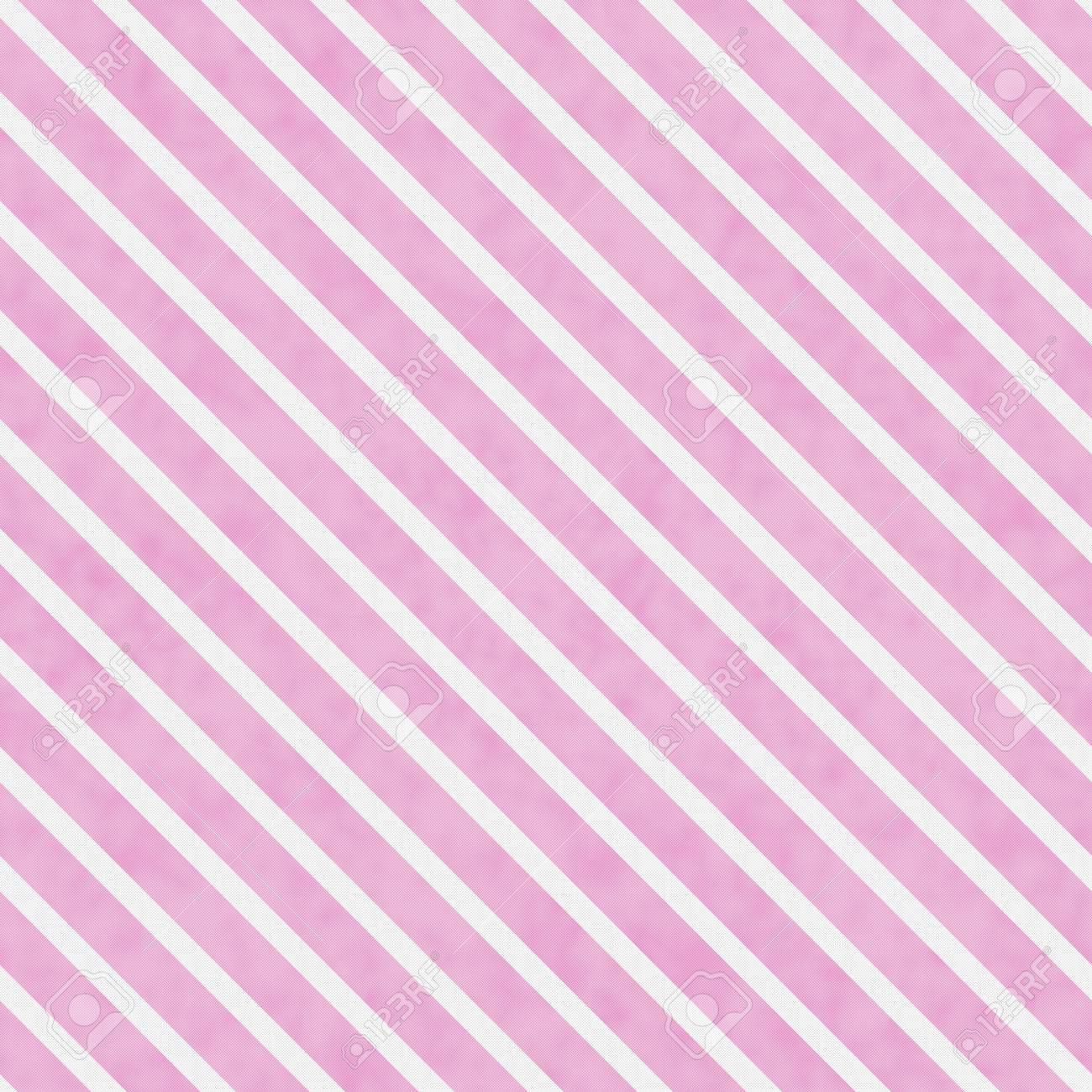 Immagini Stock Rosa E Bianco A Strisce Ripetizione Del Modello Di