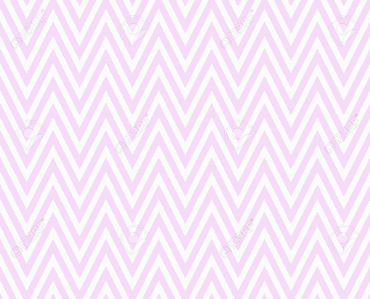 pink and white zigzag textured fabric pattern background that