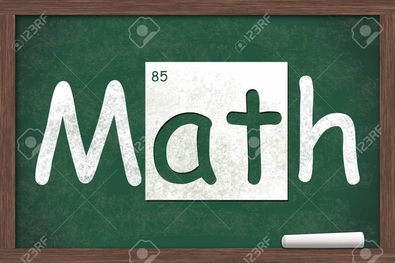 Periodic table lesson choice image periodic table images math lesson math written on a chalkboard with letters from the math lesson math written on gamestrikefo Gallery