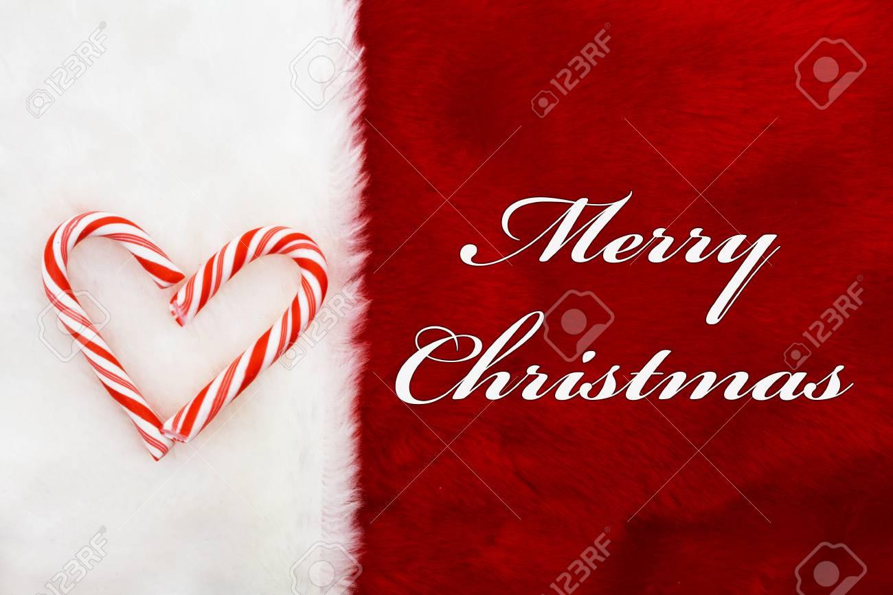 Frohe Weihnachten Herz.Stock Photo