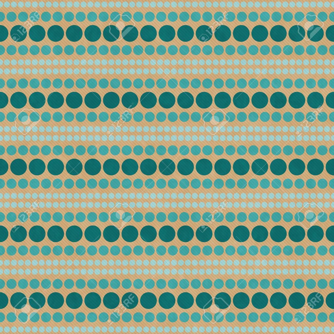 Grün Und Beige Pol Abstrakten Design Fliesen Muster Wiederholen Hintergrund  Standard Bild