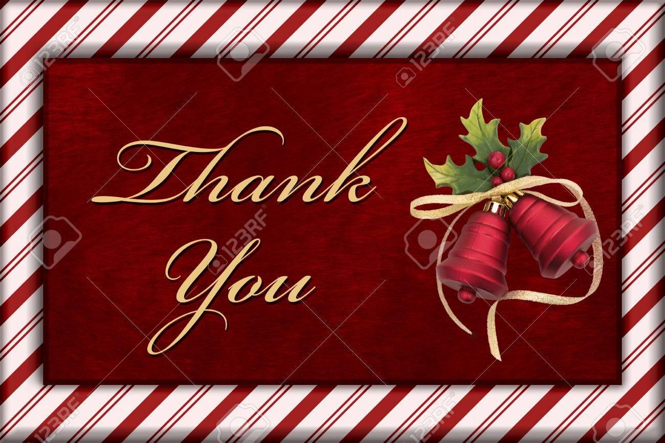 Danke Nachricht, Rot Plüsch Fell, Weihnachten Bell Weihnachten Und ...