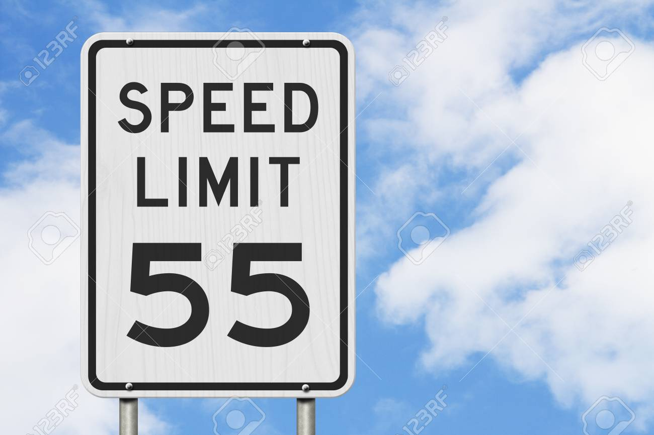 Image result for speed limit 55