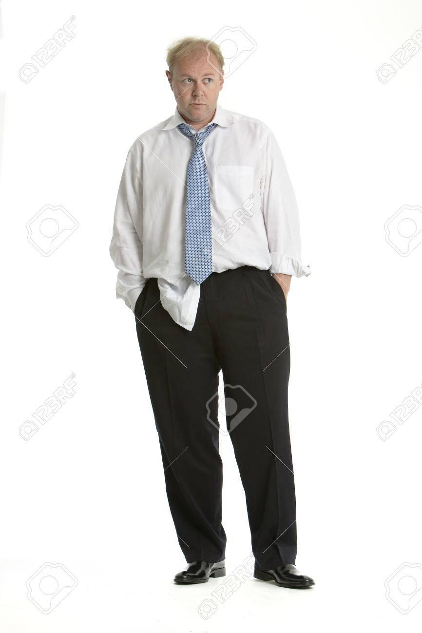 Worried business man Stock Photo - 626608