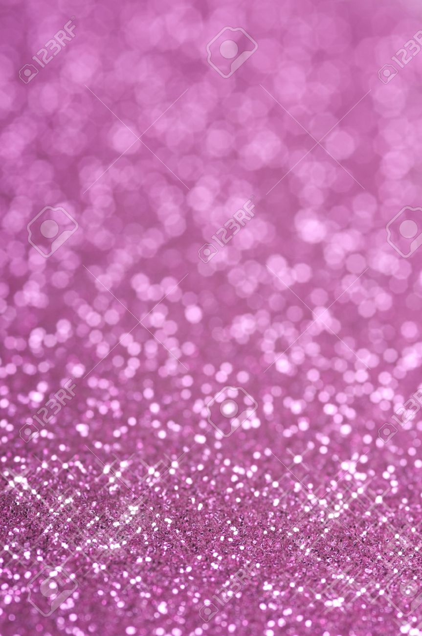 Purple and pink glitter with selective focus Stock Photo - 13625681