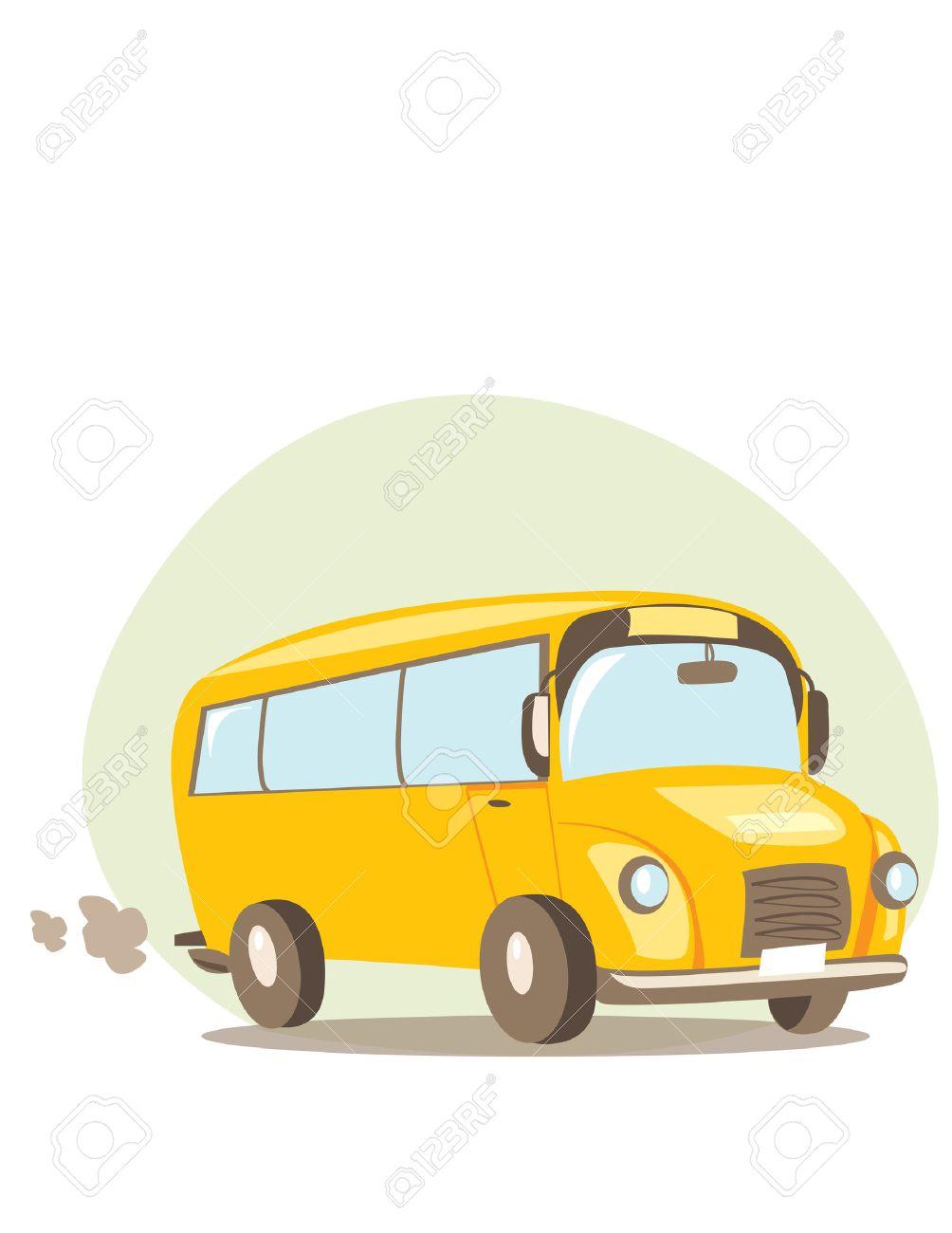 School bus  illustration Stock Vector - 5500027