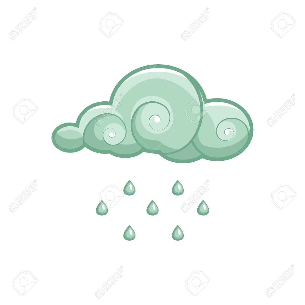 rain vector - 9297530