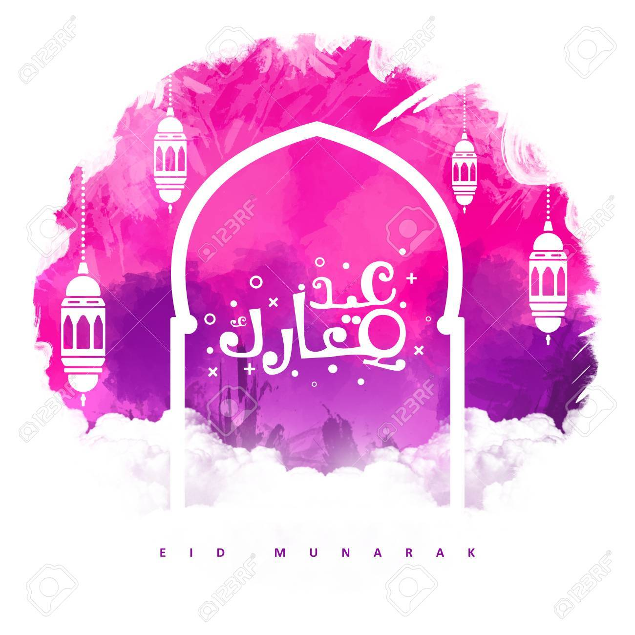 Arabic calligraphy of an eid greeting happy eid al adha eid arabic calligraphy of an eid greeting happy eid al adha eid al fitr kristyandbryce Choice Image
