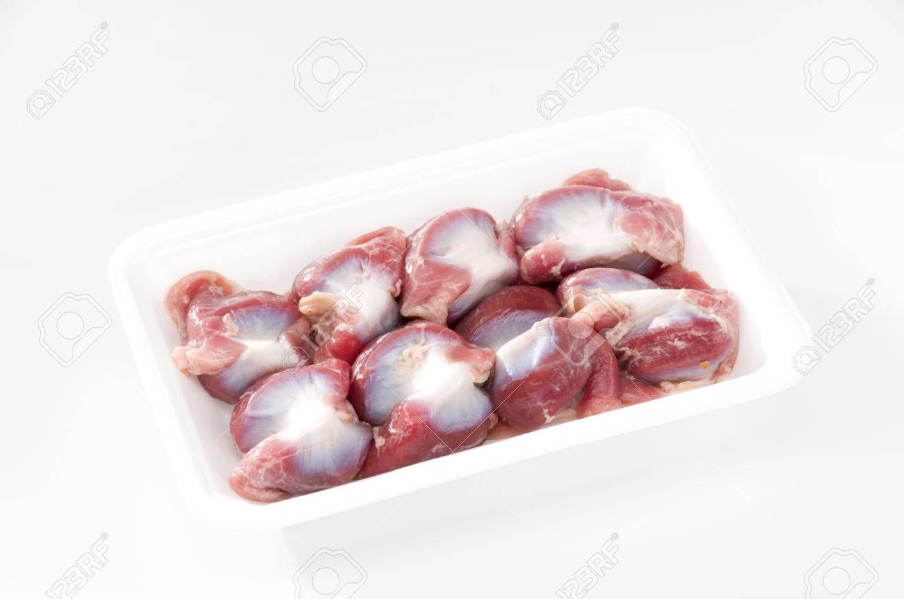 Raw Chicken gizzards - 80522279