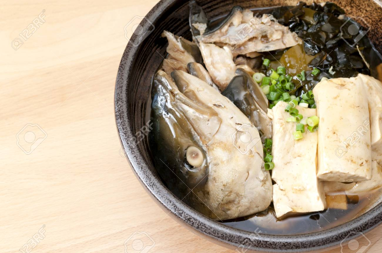 Japanese cuisine and Simmered Yellowtail (Japanese Amberjack)
