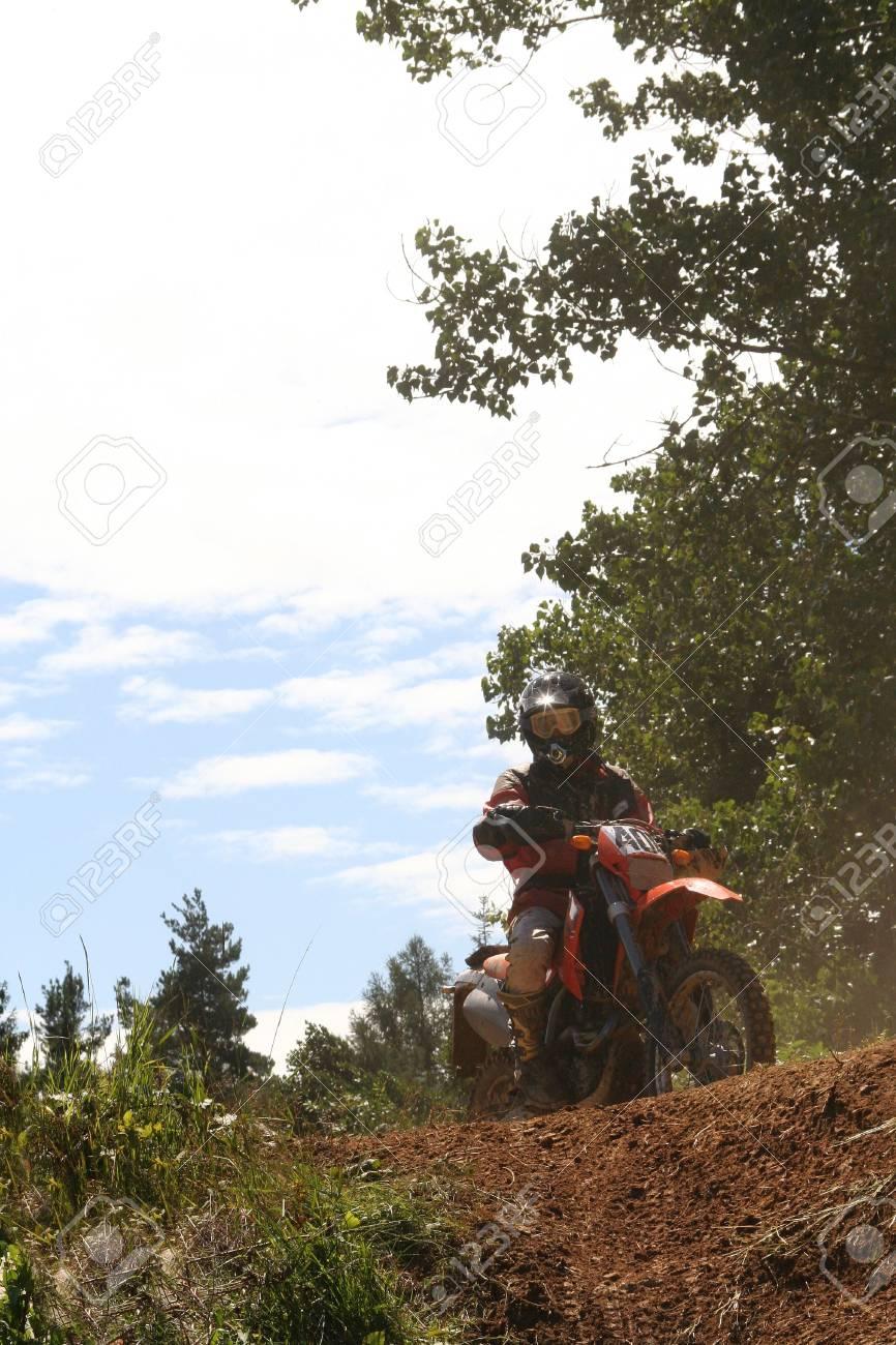 Motocross Bike - Racing Stock Photo - 1254408