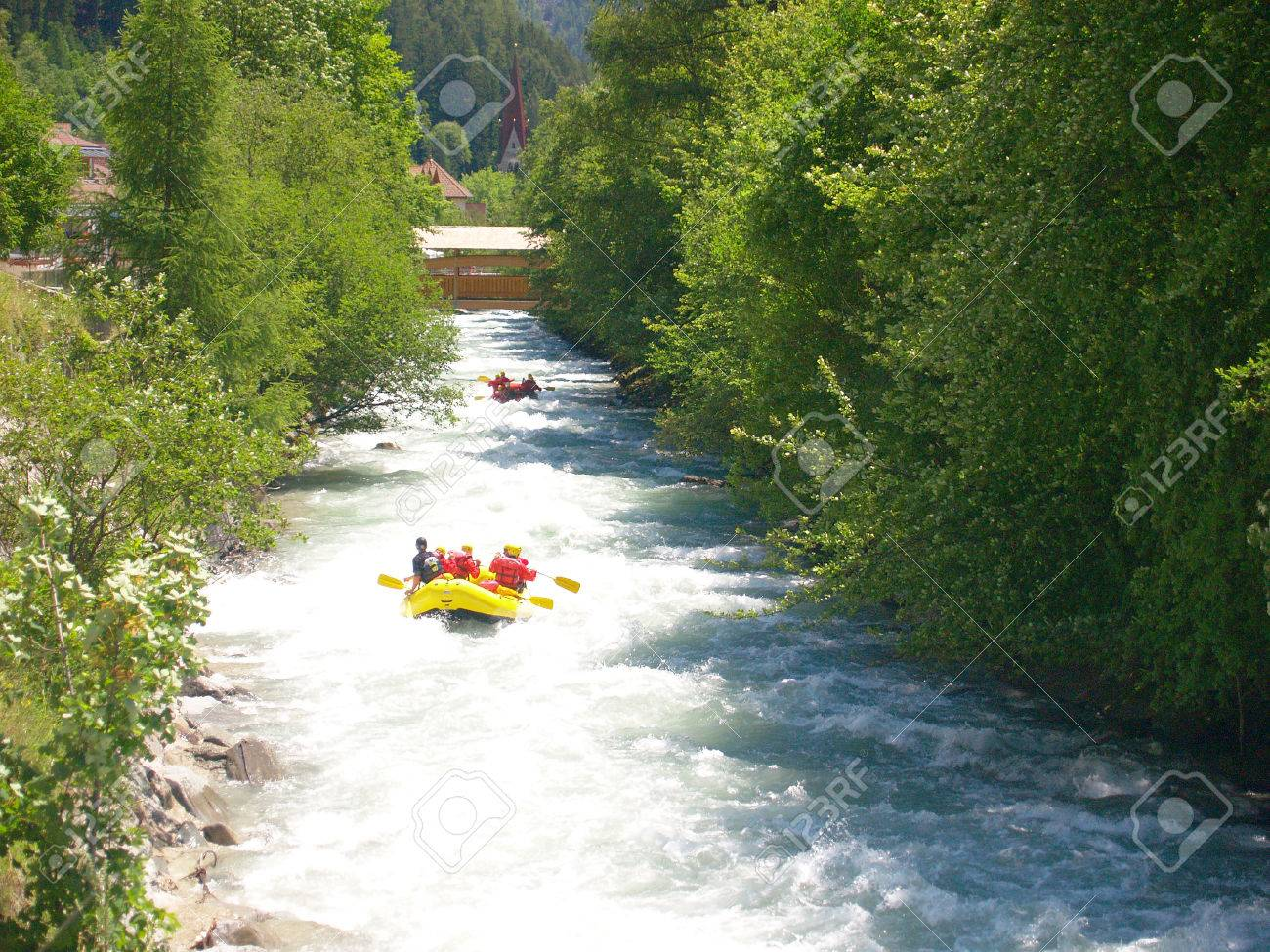 river rafting Stock Photo - 1414713