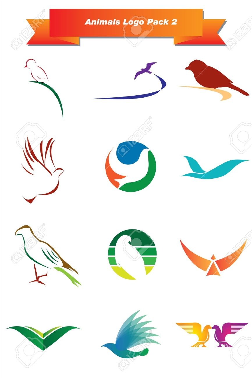 This is a set of vector logo   design elements, suitable for several projects  Full editable Stock Vector - 13952471