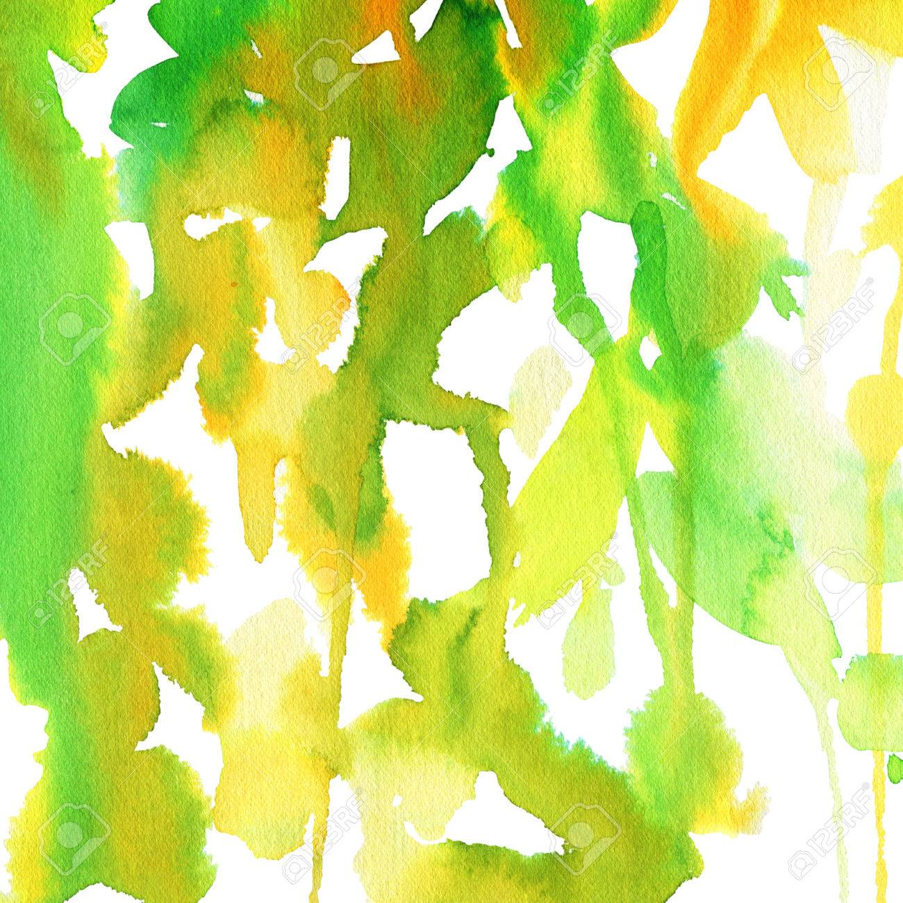 Abstract Watercolor Background To Create A Greeting Card With