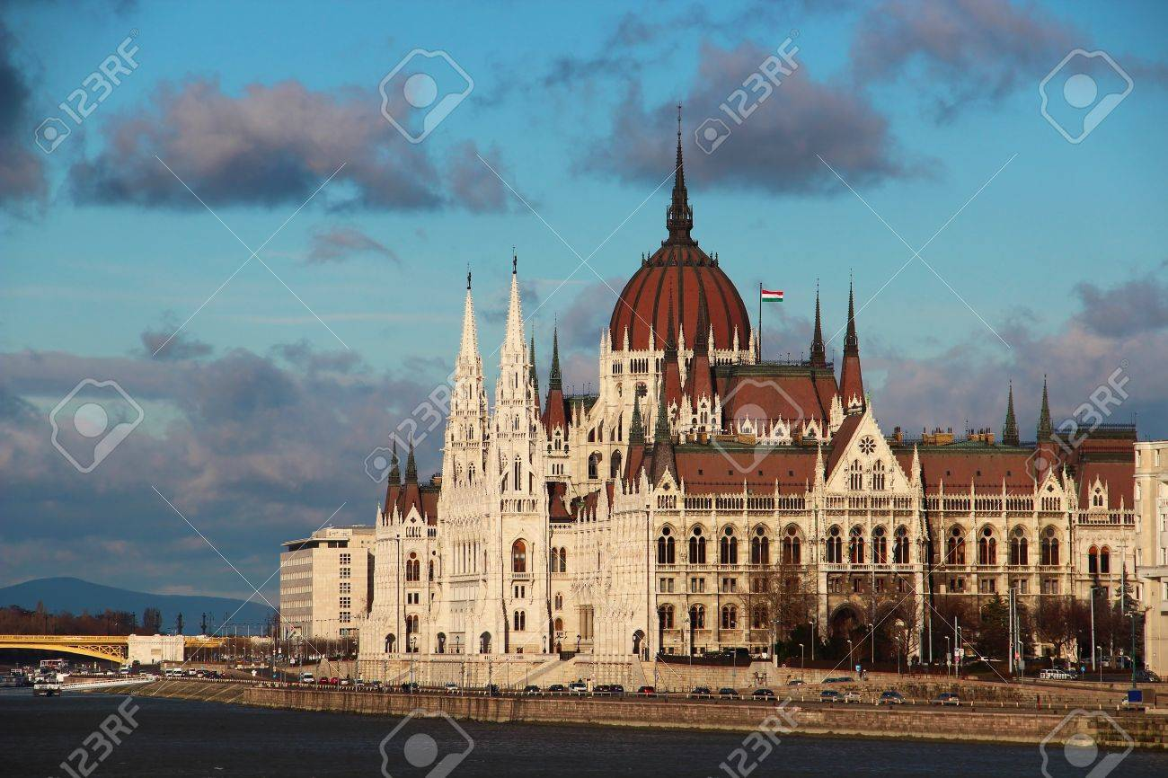 Famous building of Parliament in Budapest, Hungary Stock Photo - 13857204