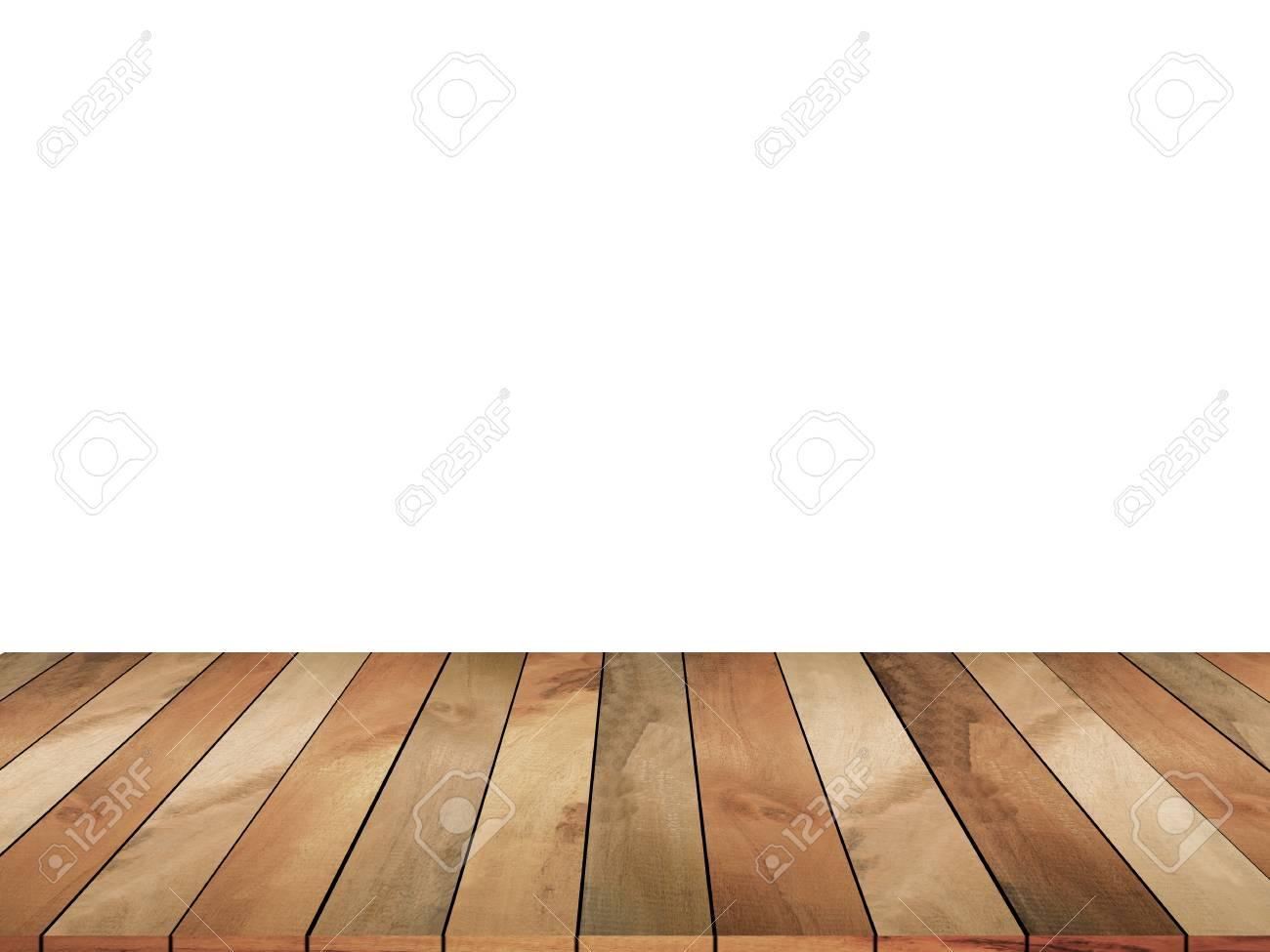 Immagini Stock Piano Tavolo In Legno Su Sfondo Bianco Può Essere