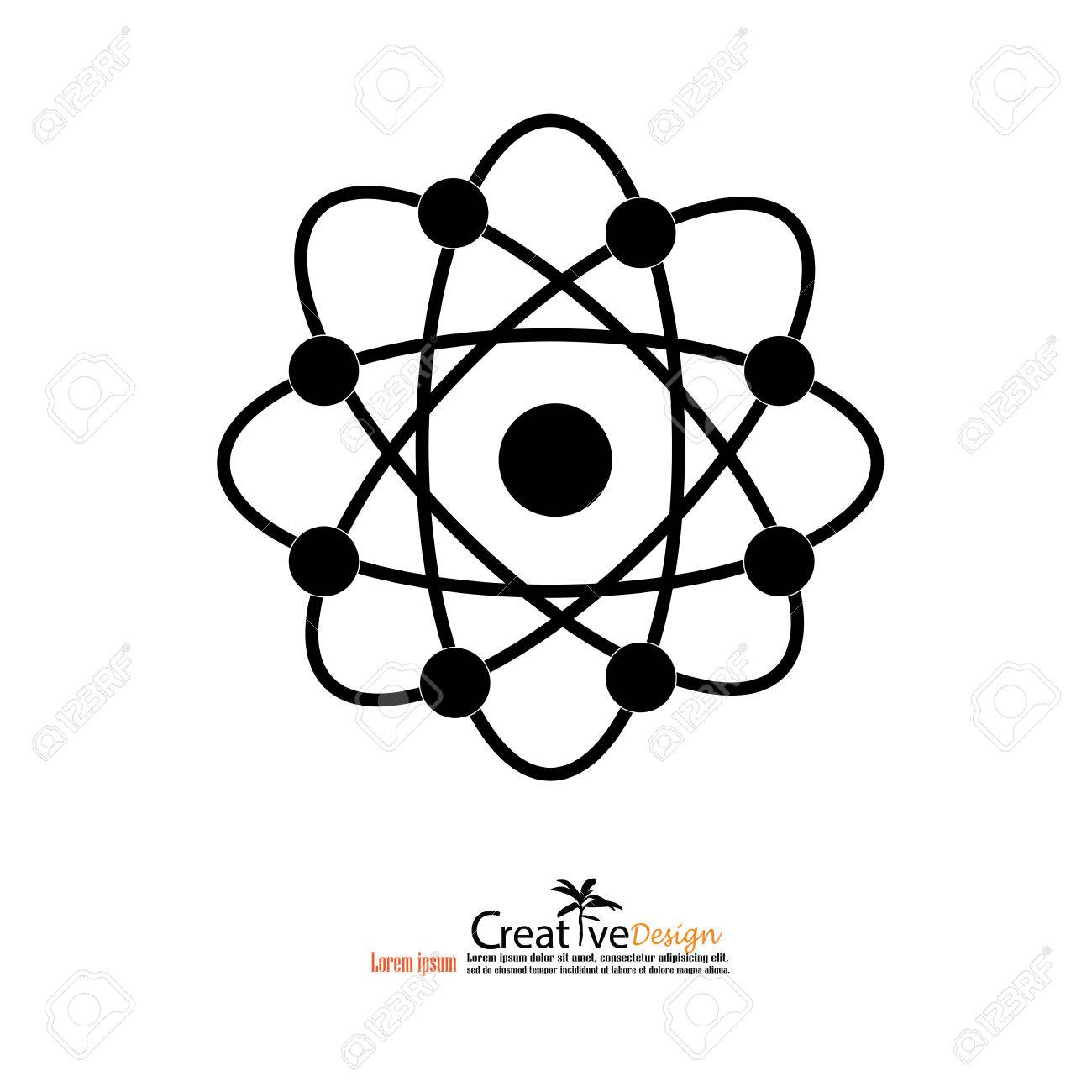 Atom structure vectorsymbol of atomatom atom illustration atom structure vectorsymbol of atomatom atom illustrationcovalent shell of ccuart Image collections