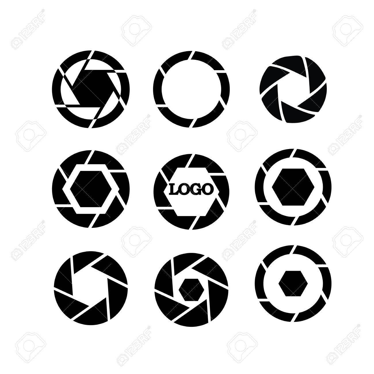 shutter vector camera objective icon shutter icon camera vector rh 123rf com vector camera logo vector camera system