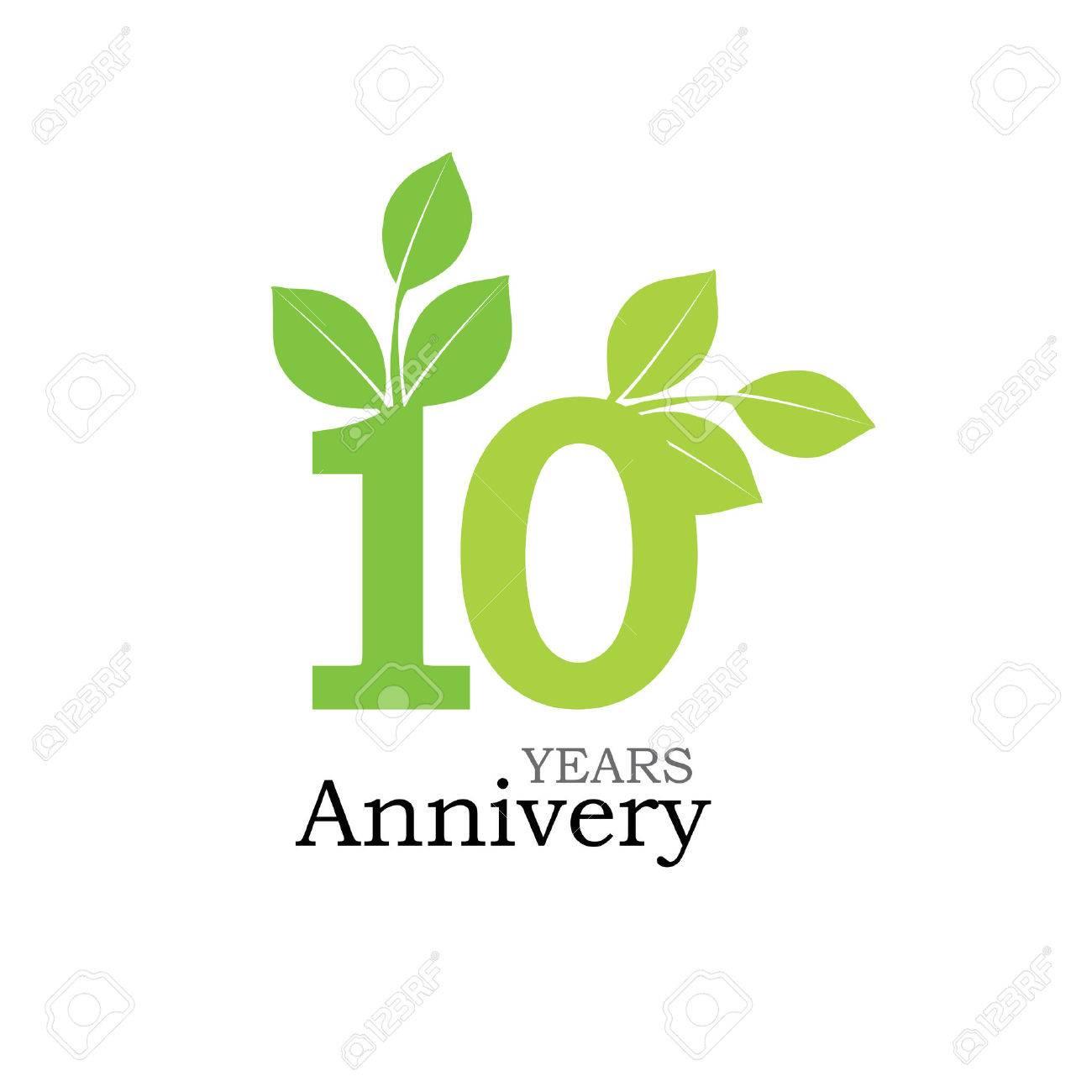 Template logo 10th anniversary 10 years anniversary logo template logo 10th anniversary 10 years anniversary logo celebration 10 years 10 biocorpaavc