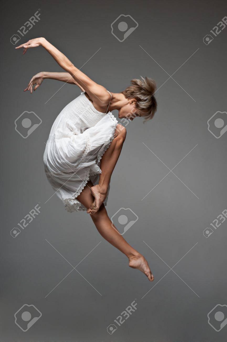 modern style dancing girl - 15752535