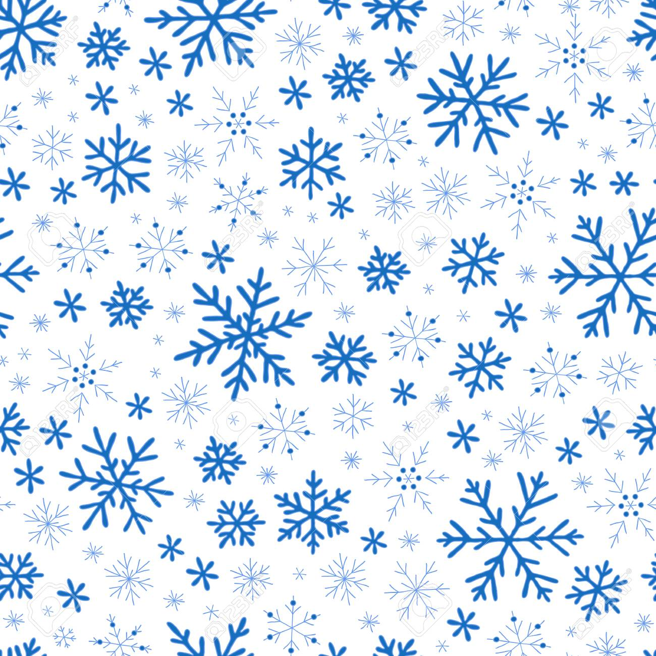 Cute Simple Vector Snowflakes For Postcard And Poster Graphic Design Textile Wrapping Paper Hand Drawn Style Christmas Winter Backgrounds