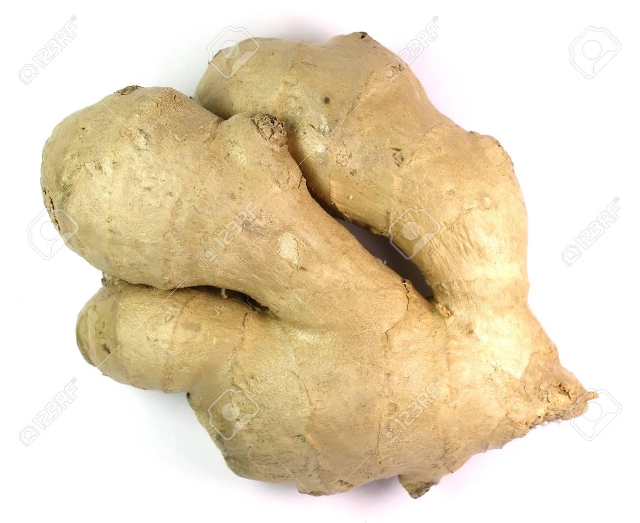ginger isolated on white backgrou Stock Photo - 16838805