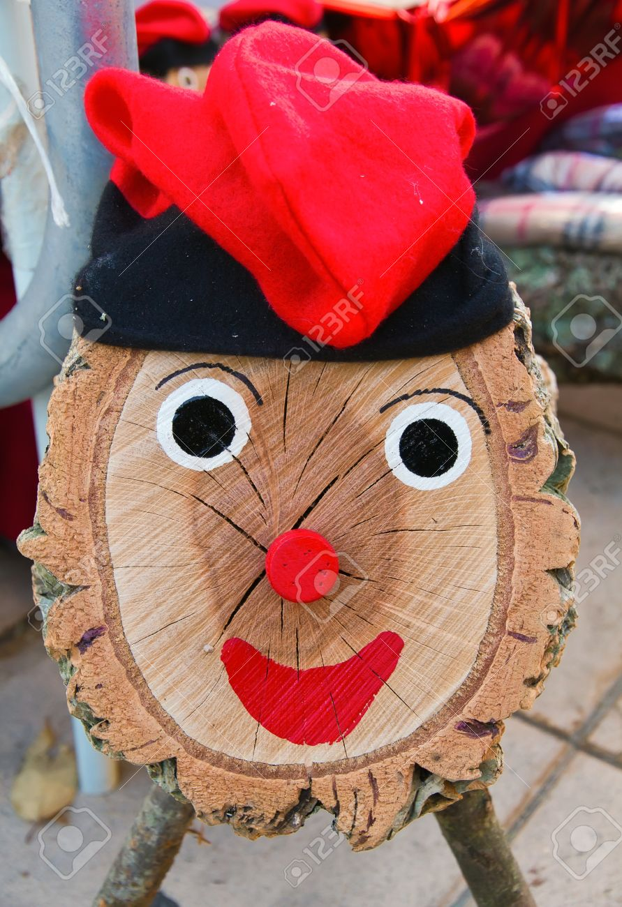 A Tio De Nadal A Typical Christmas Character Of Catalonia Spain Stock Photo Picture And Royalty Free Image Image 11739795