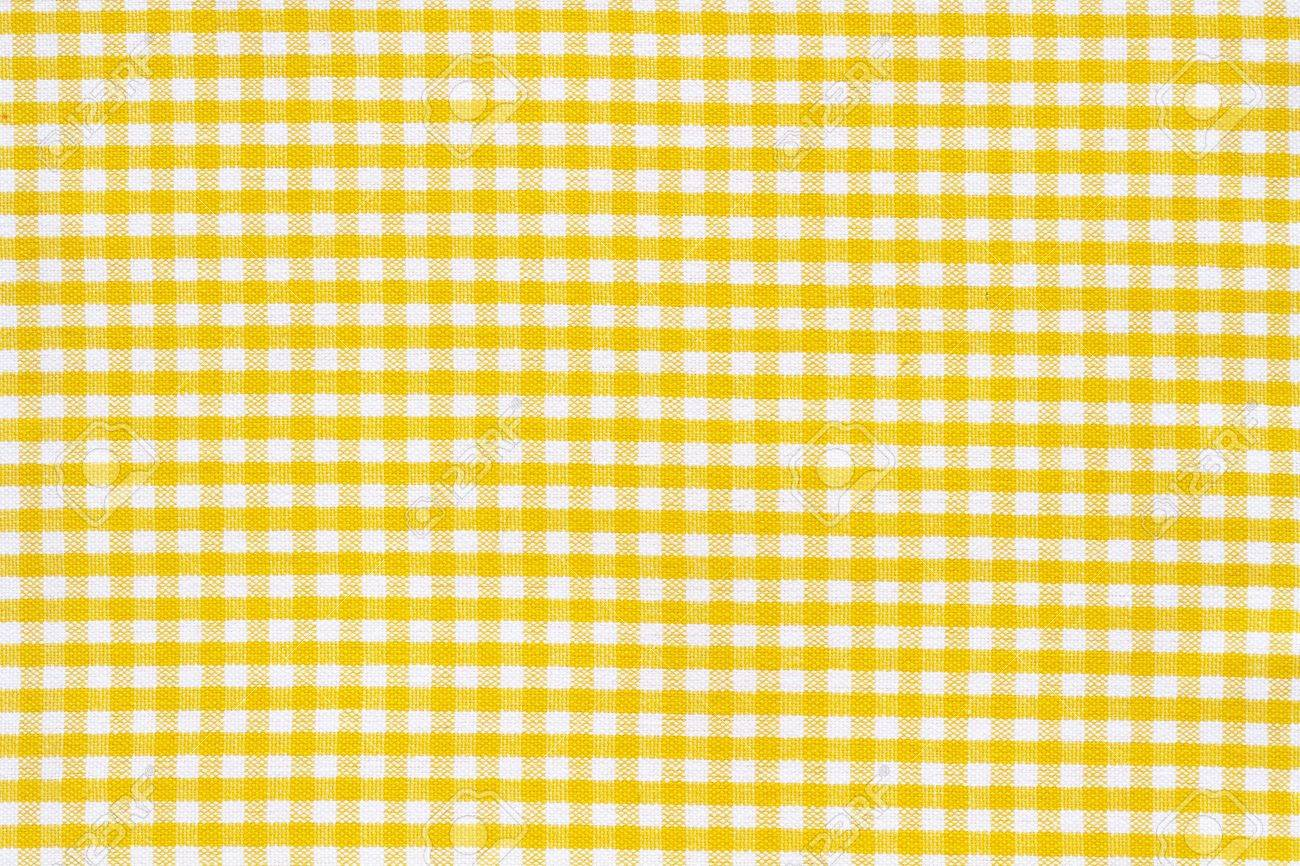 Light Cotton Towel Closely Orange, Yellow, White Tablecloth Texture Stock  Photo   14046922