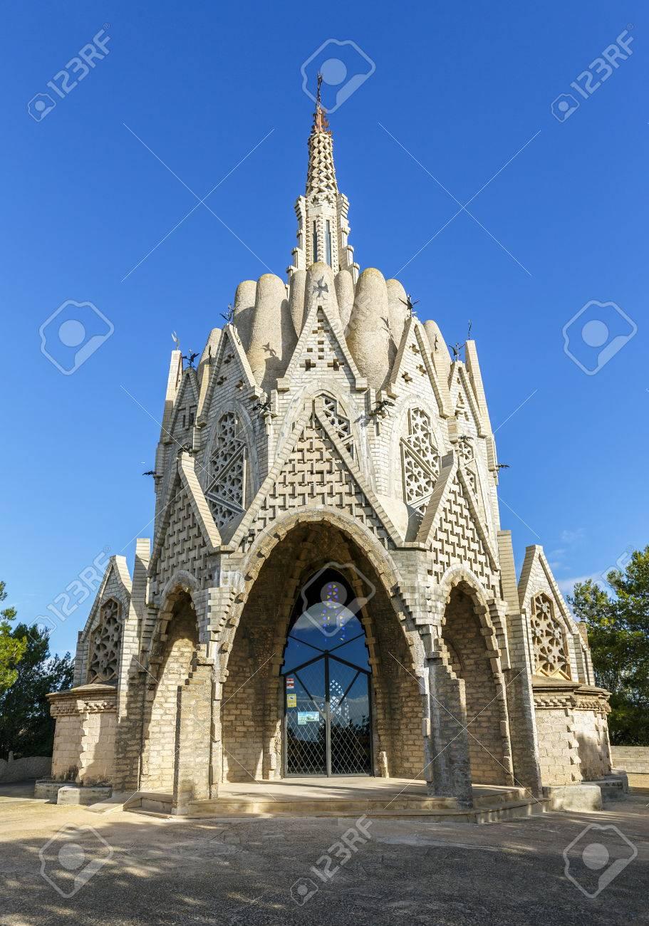 santuario de montserrat en montferri alt camp provincia de tarragona catalua espaa