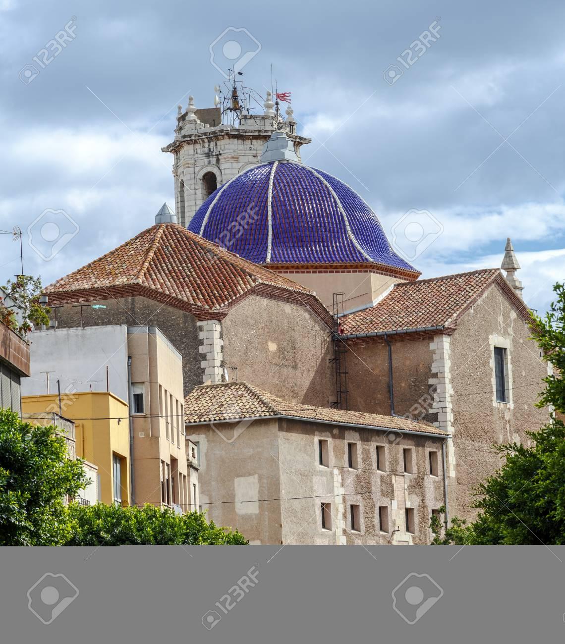 聖バーソロミュー教会ベニカルロ、カステリョン県、スペイン。バロック ...
