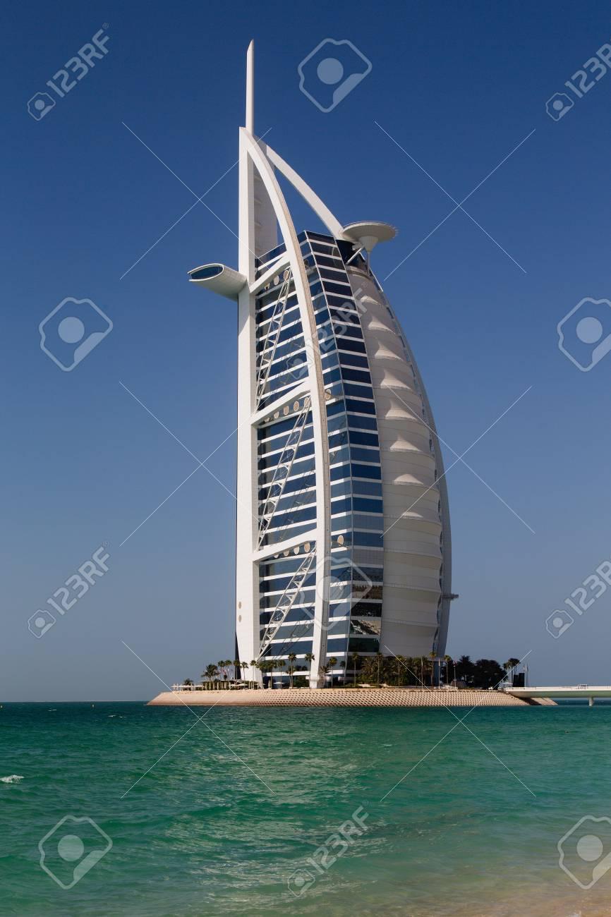Dubai Uae Sep 29 De 2014 Al Arab Considerado Como El Hotel Más