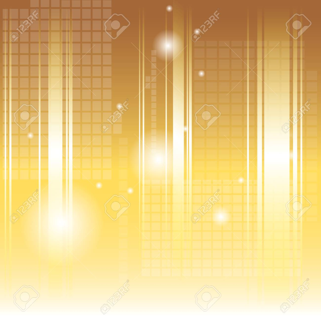 vector illustration of abstract gold background Stock Vector - 21912325
