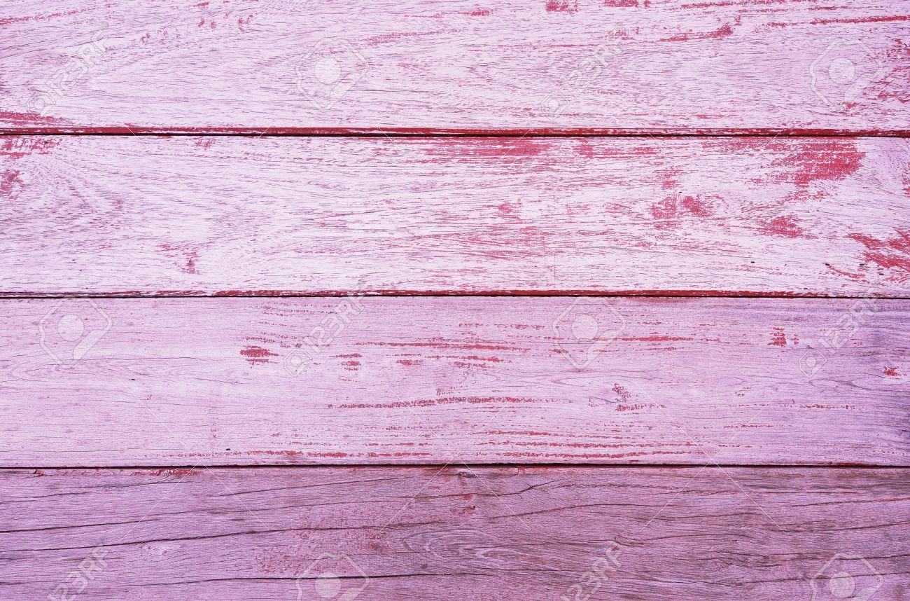 Vieux Bois Rose Avec La Peinture écaillée Texture De Fond Banque D