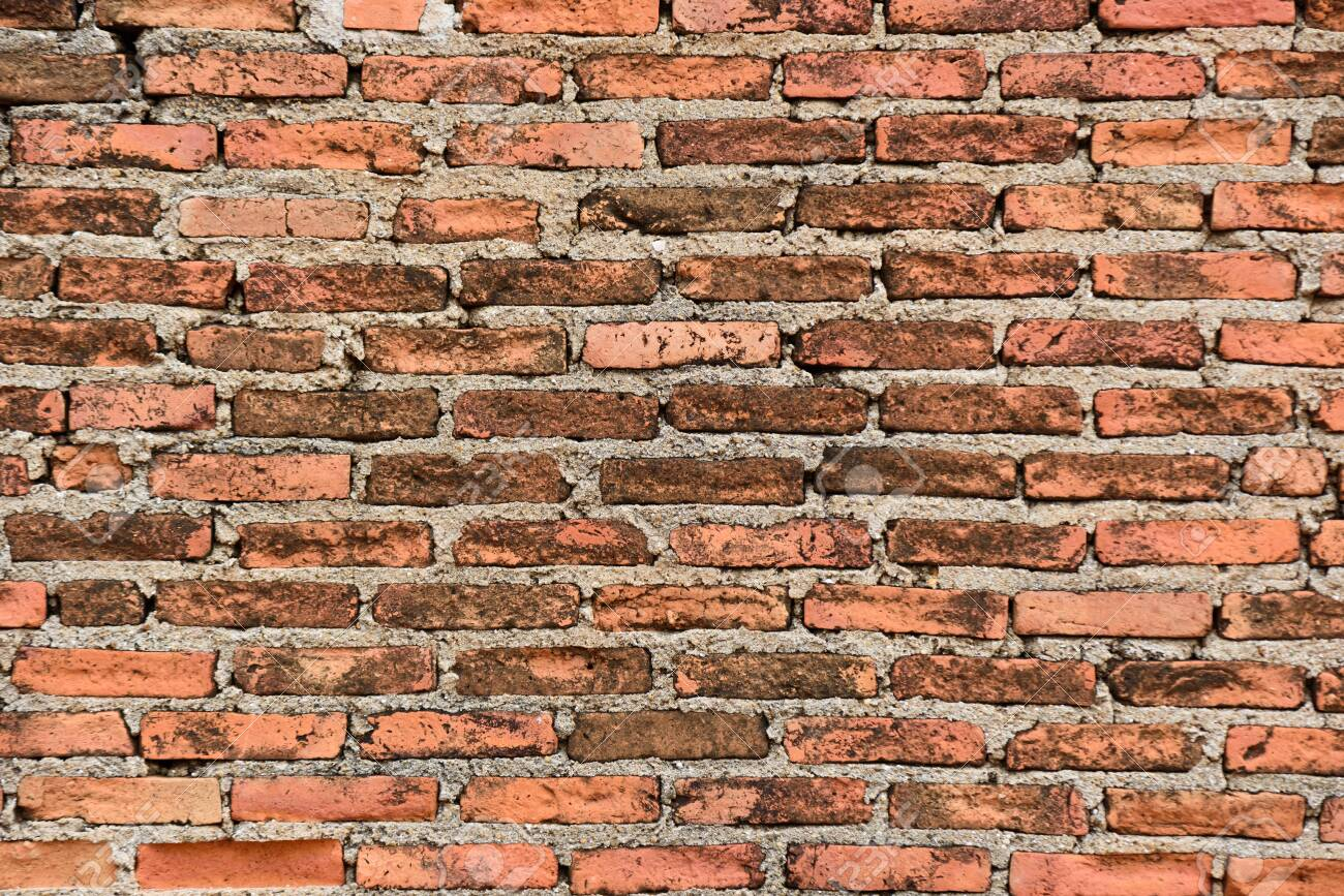 Red Brick Pattern In The Wall Brick Wallpaper Background Stock Photo Picture And Royalty Free Image Image 147476702