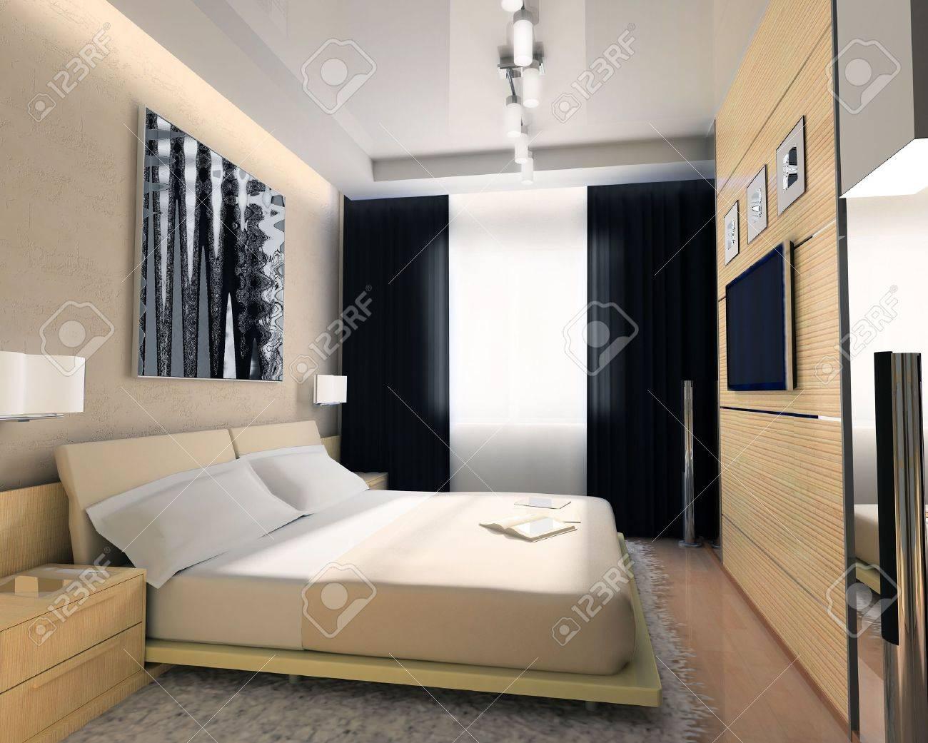 Interior of a sleeping room Stock Photo   899405. Interior Of A Sleeping Room Stock Photo  Picture And Royalty Free