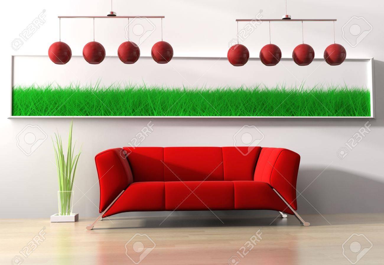 Modern Furniture Red red modern couches - destroybmx