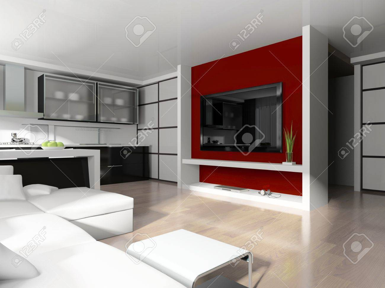 steel kitchen cabinetry cost wool how grease how to calculate linear feet for stock photo modern white drawing room 3d image