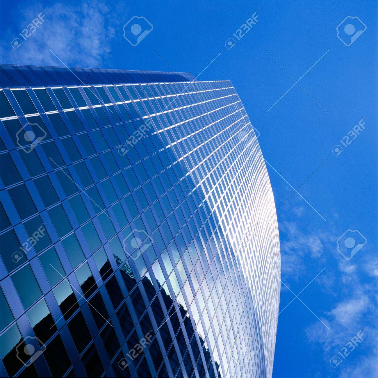 High rise building taken from below Stock Photo - 1280905