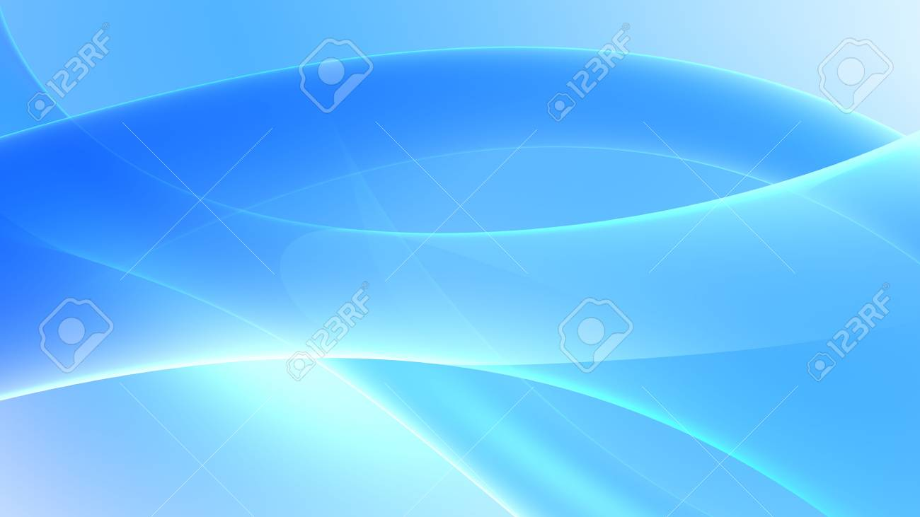 blue abstract background 3d render Stock Photo - 2941904