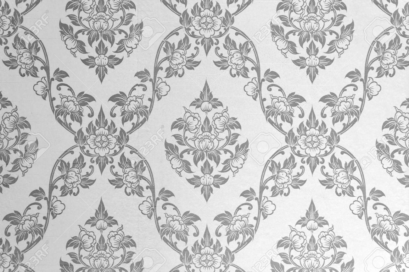 Gentle And Subtle Grey Wallpaper Stock Photo Picture And Royalty
