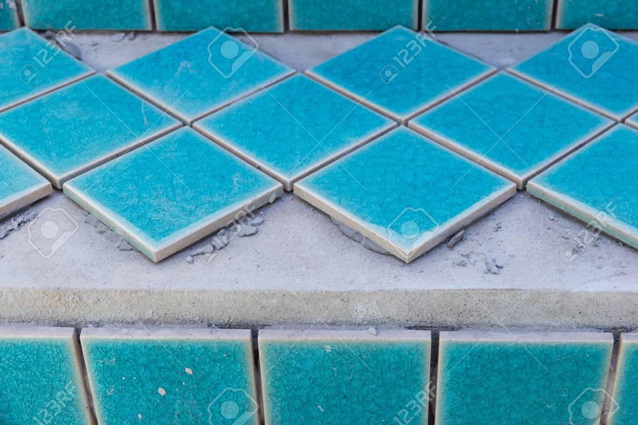 industrial tiler builder swimming pool - 59920755