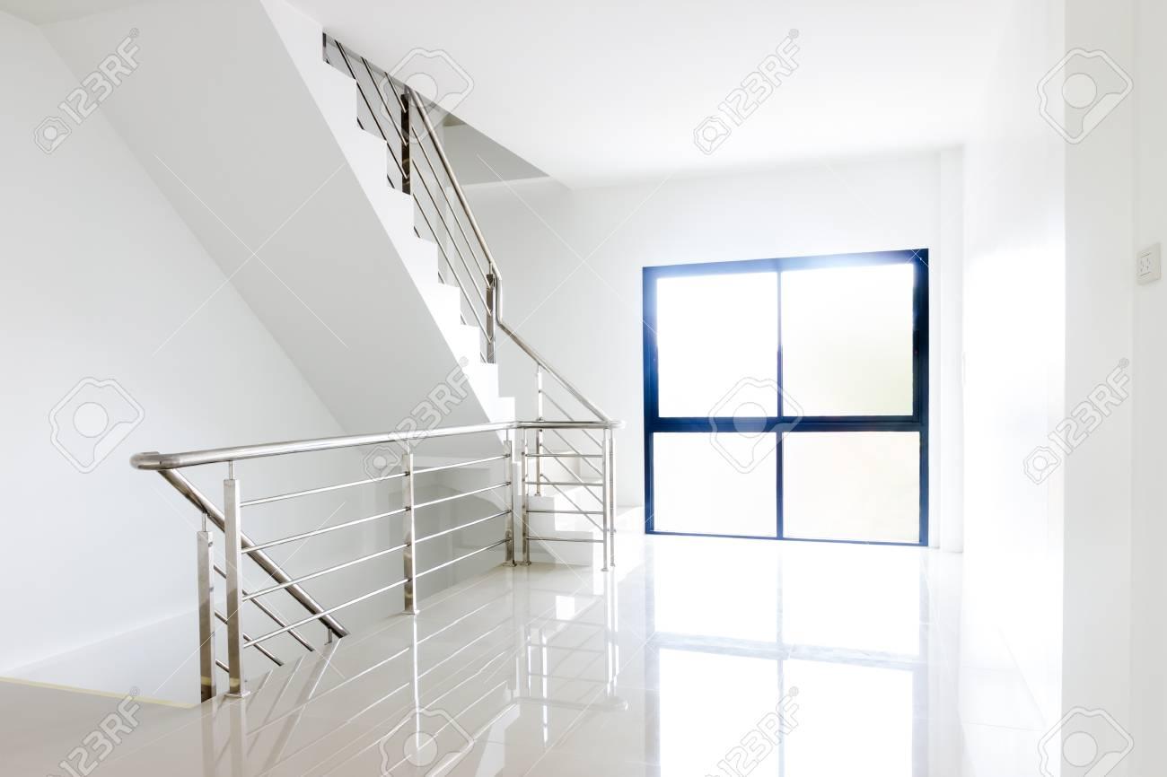 Architektur Home Interior Design Treppe Handläufe Aus Edelstahl ...
