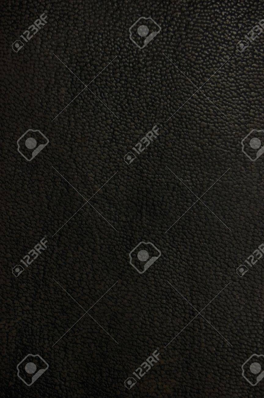 Old natural dark brown black grunge grungy leather texture background, macro closeup Stock Photo - 7320578