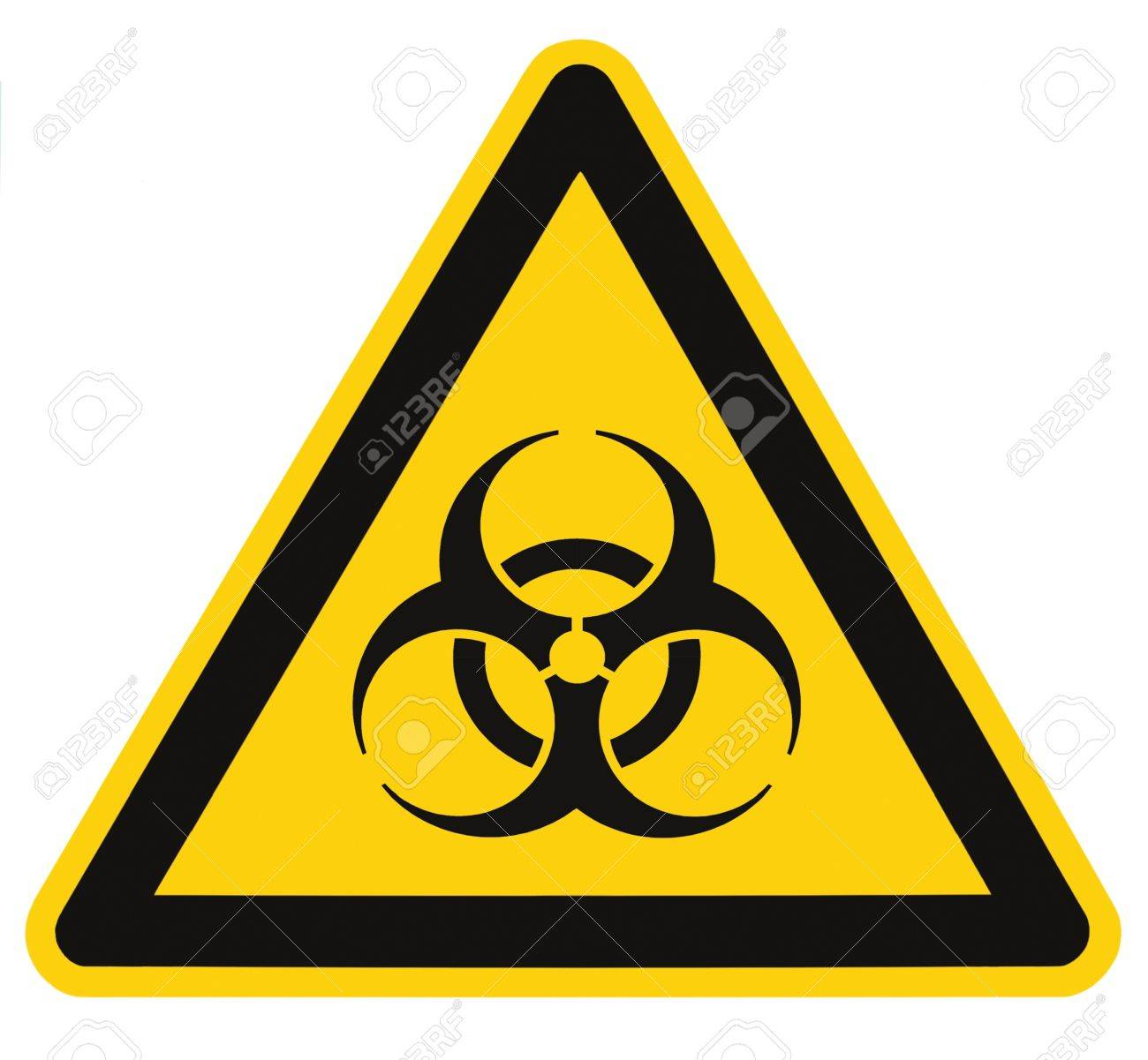 Biohazard symbol sign of biological threat alert isolated black biohazard symbol sign of biological threat alert isolated black yellow triangle signage macro stock photo biocorpaavc Image collections
