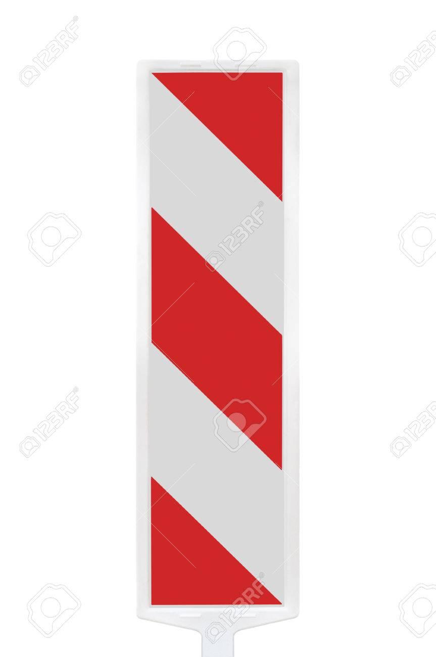 Straßenverkehrssicherheit Arbeitet Pole Post-Schranke, Vertikalen ...