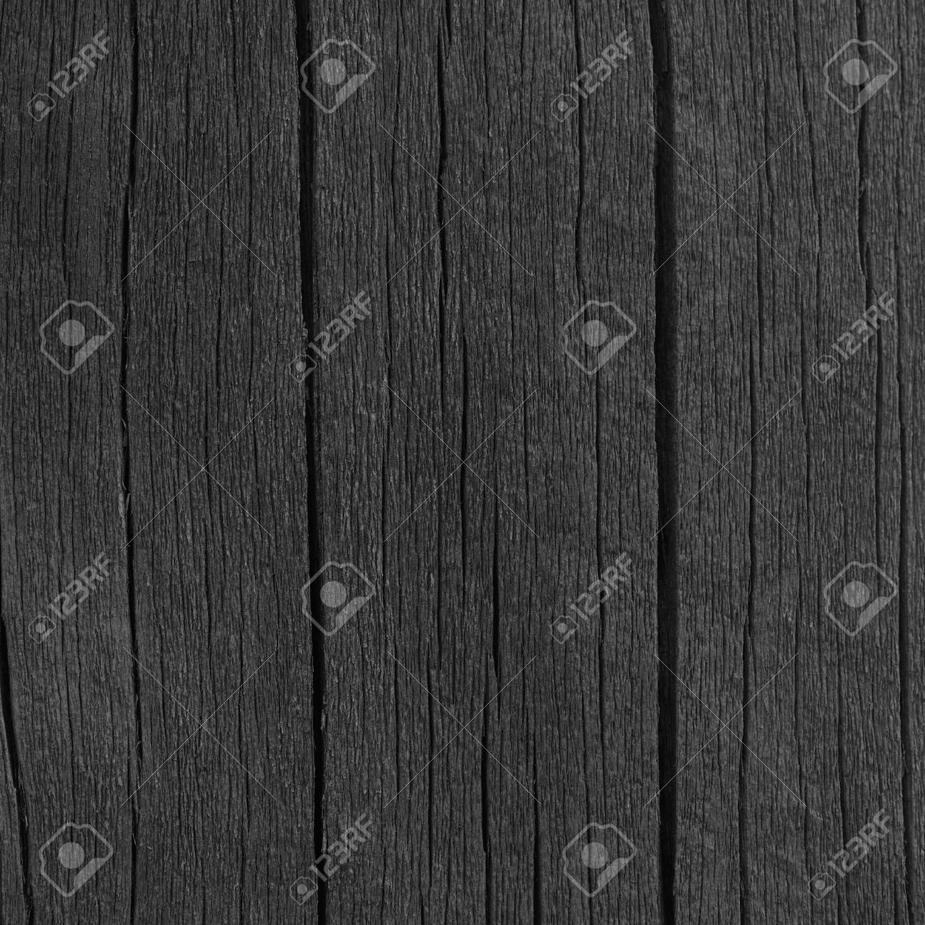 Wooden Plank Board Black Wood Tar Paint Texture Detail Large
